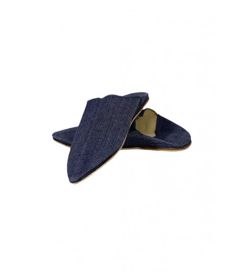 jeans Moroccan slippers
