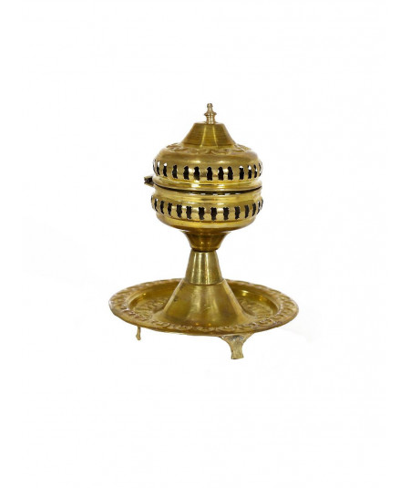 Traditional Moroccan incense burner