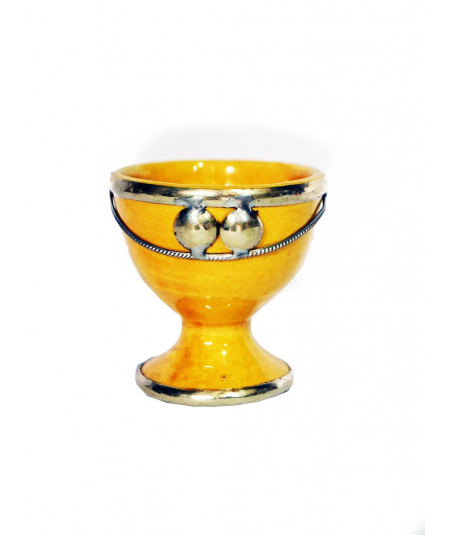 Egg-cup nickel silver