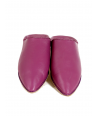 Handmade Moroccan Leather Pink Slippers