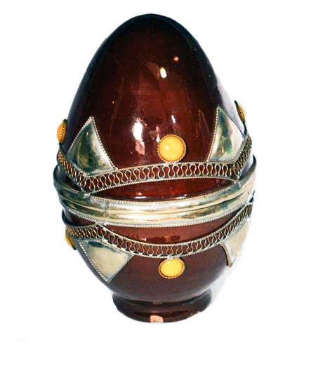 Box egg nickel silver Aâdem