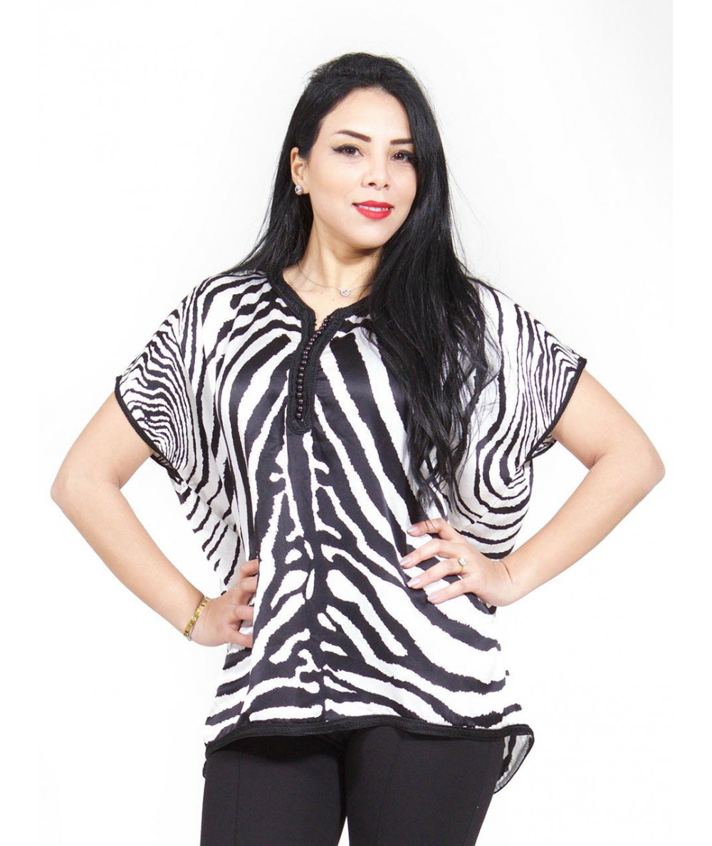 Half sleeves butterfly tunic