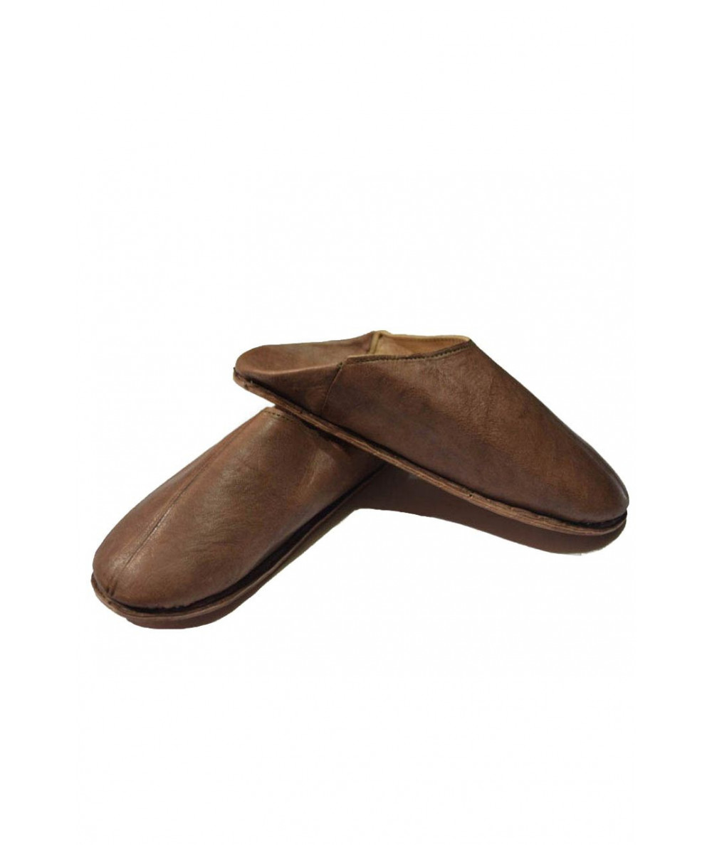 Oriental shoe, soft leather, simple