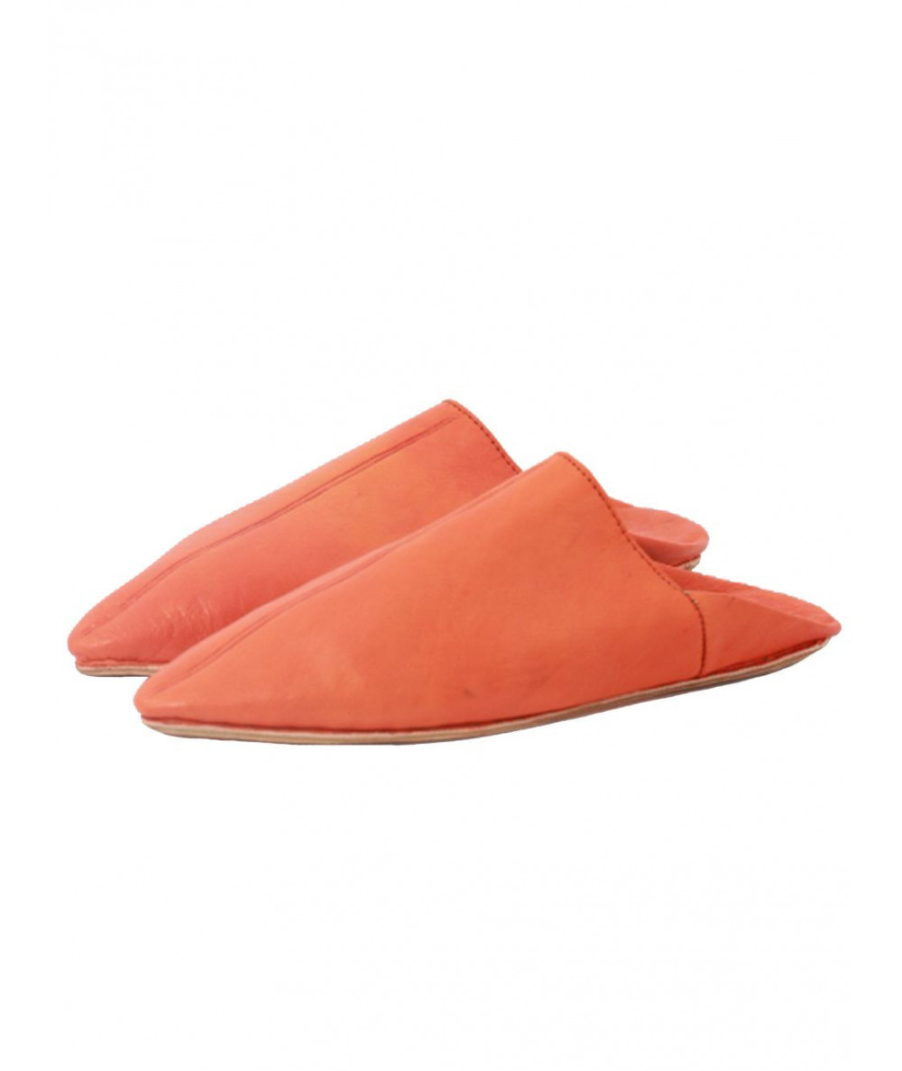 Oriental shoe, soft leather, pointy