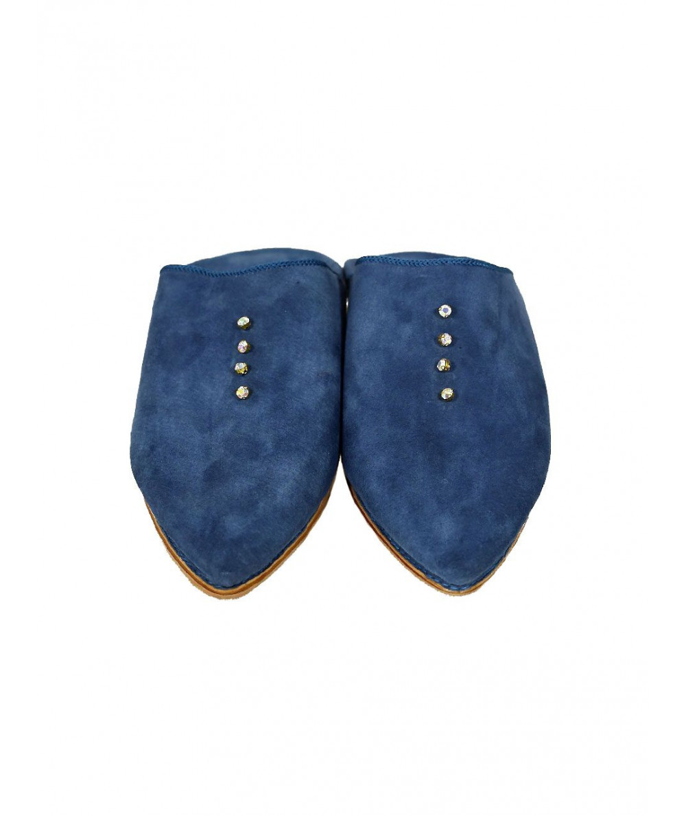 Suede slipper