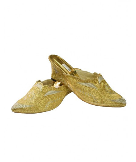 Oriental shoe, heeled, double