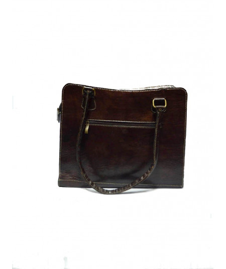 Leather bag, pocket