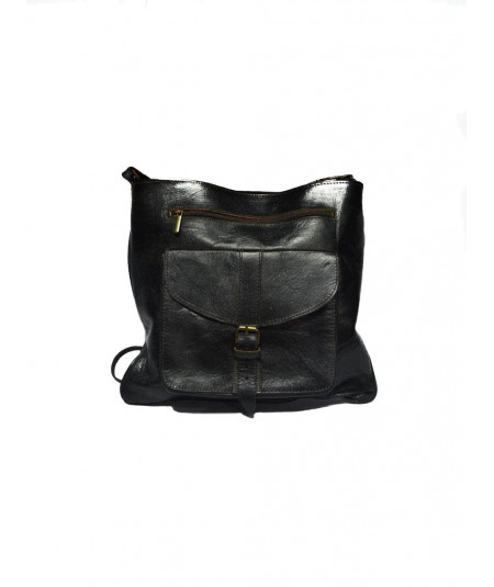 Leather bag, pocket 2