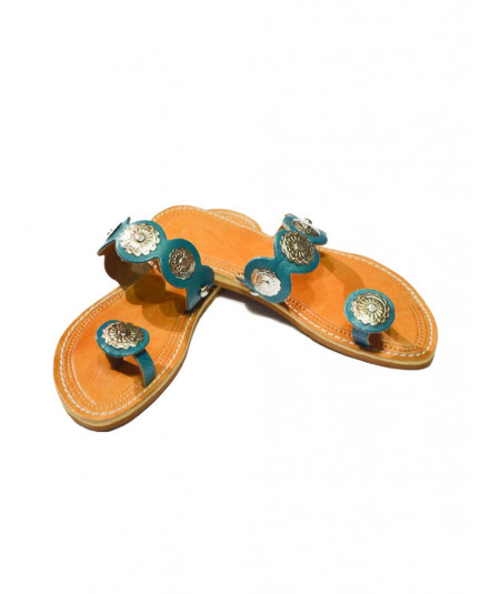 Woman's finger sandals