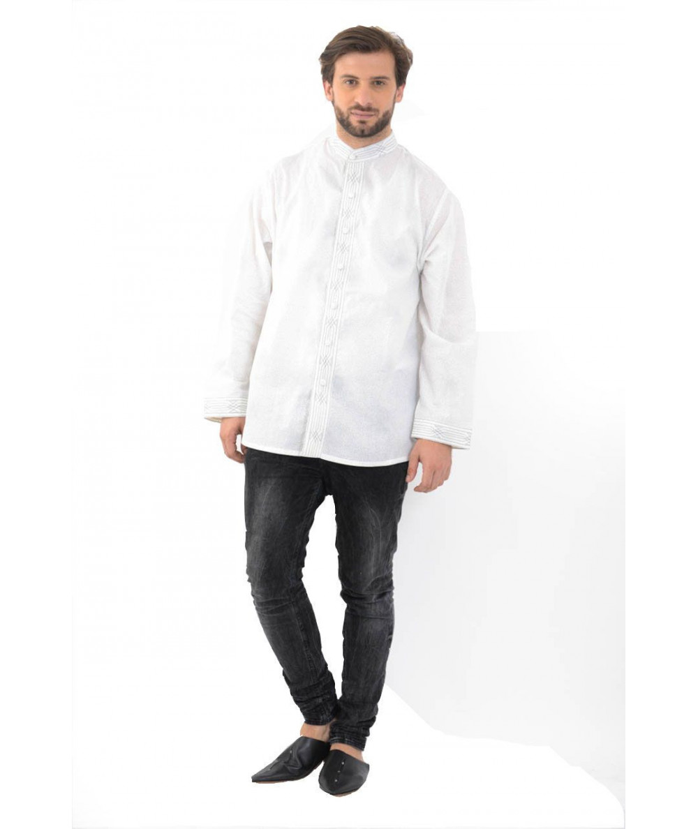 CHEMISE HOMME BOUTON SIMPLE