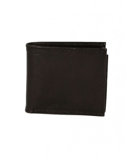 Black sheep leather wallet