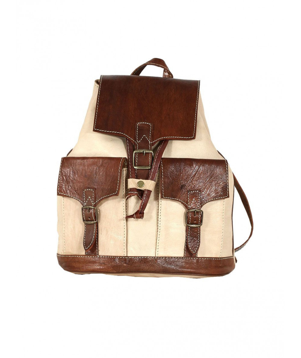Backpack with two pockets