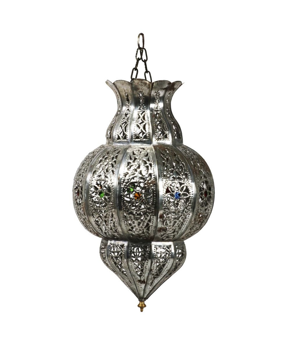 Silver colored tinted lamp