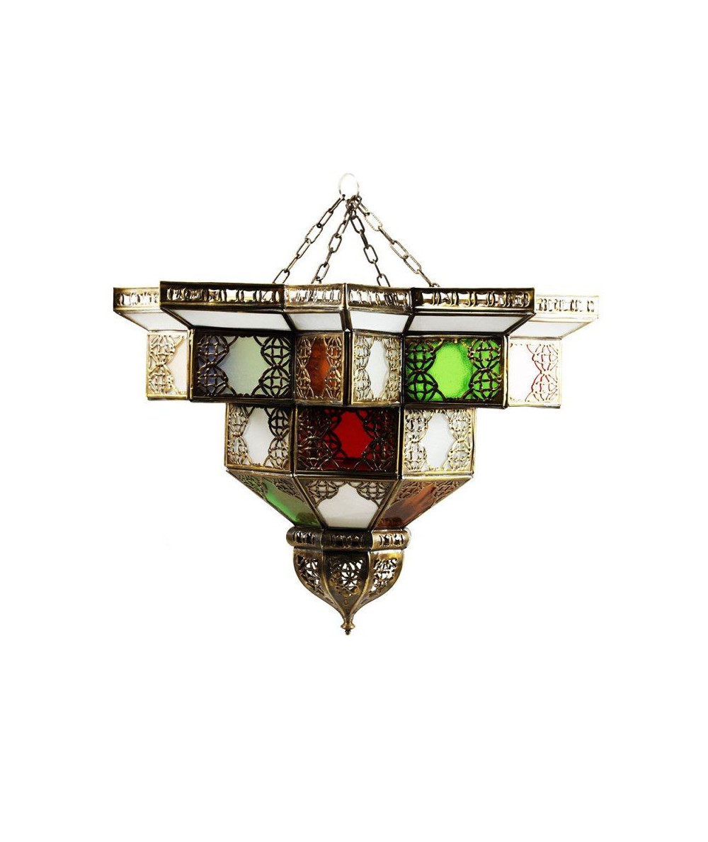 Glass colors wall lamp