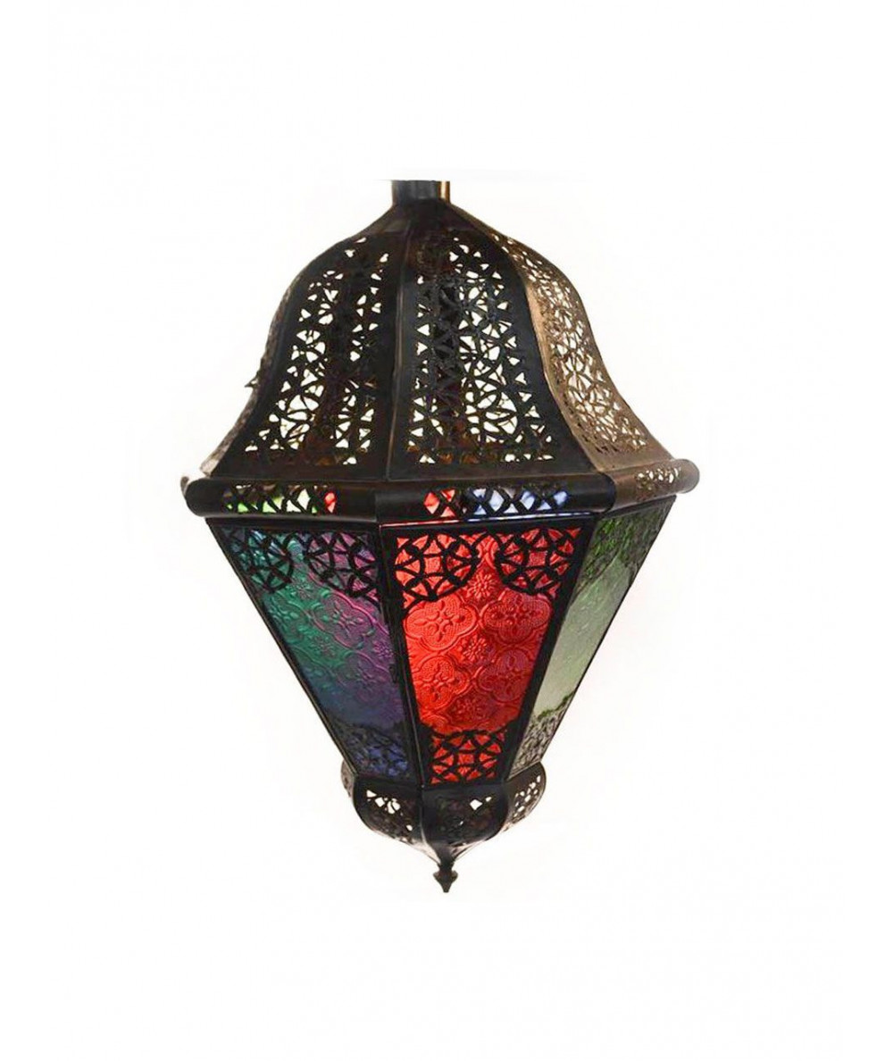 Lamp Aaraki red green