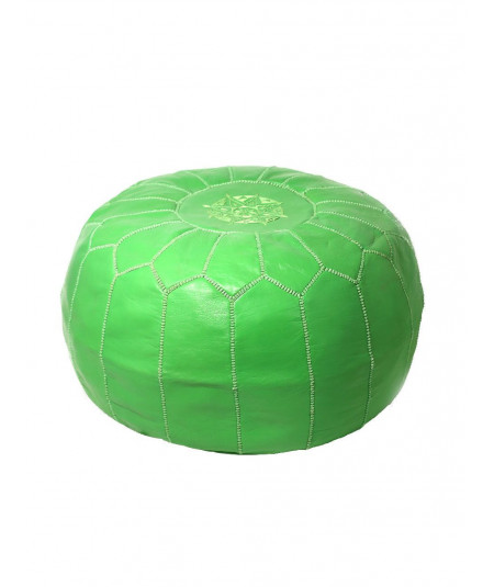 Traditional Moroccan ottoman pouffe