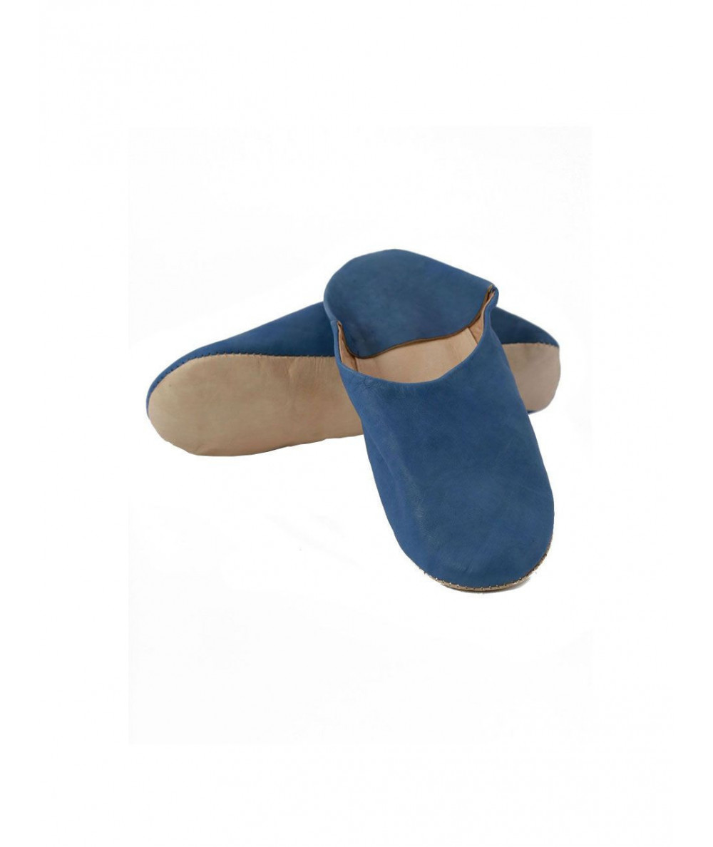 Babouche slipper, soft leather, simple