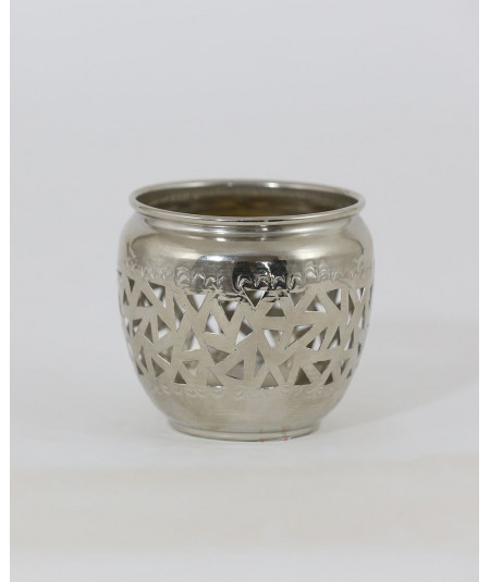 Small silver candlestick