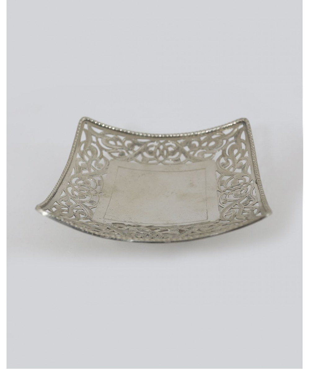 Small silver plate