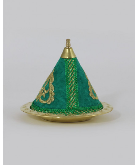 Green small decorative tajine